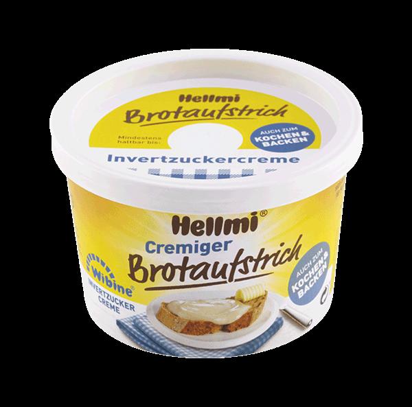 Hellmi Cremiger Brotaufstrich - Wibine - 0,1 % Bienenhonig 250g