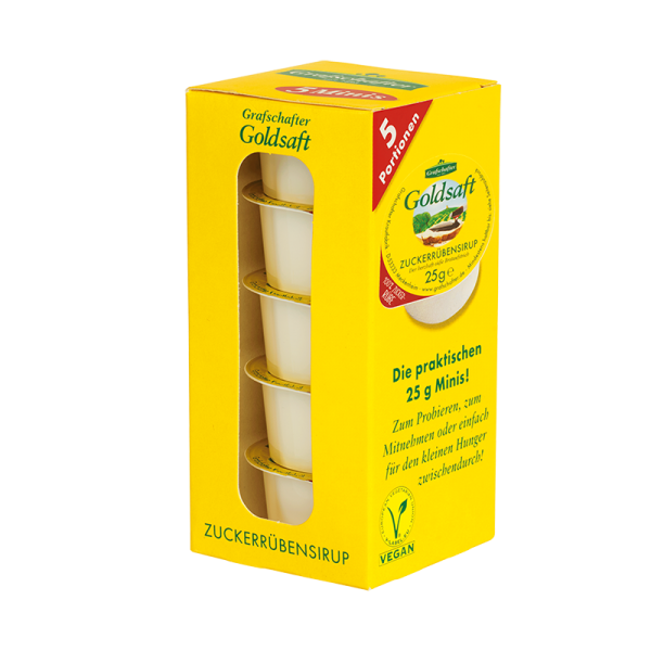 Grafschafter Goldsaft Minibox 5x25g