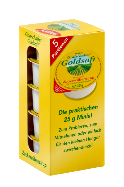 Grafschafter Goldsaft Minibox 5x25g